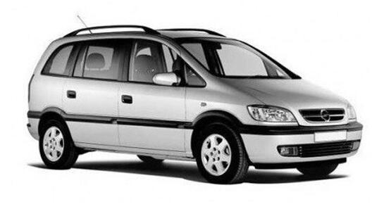 Automobilių nuoma - nuomojamas Opel Zafira